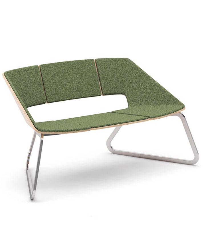 Sofá de diseño Hug en dos plazas marca Infiniti Design