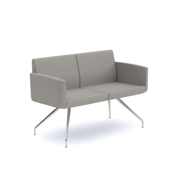 Sofa Sofia de dos plazas variedad de colores marca Infiniti Design