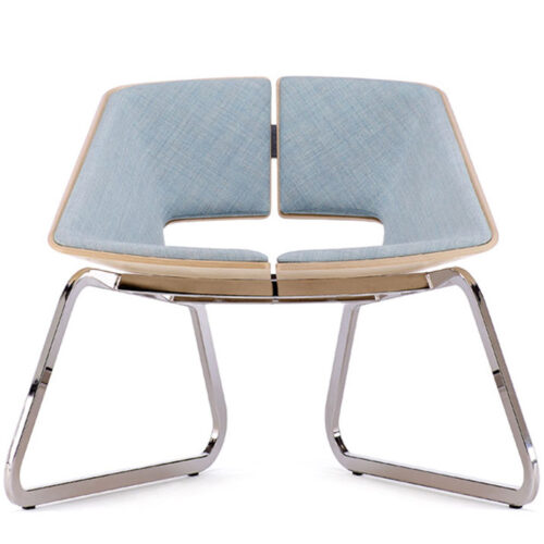 Sofa de diseño Hug de una plaza marca Infiniti Design
