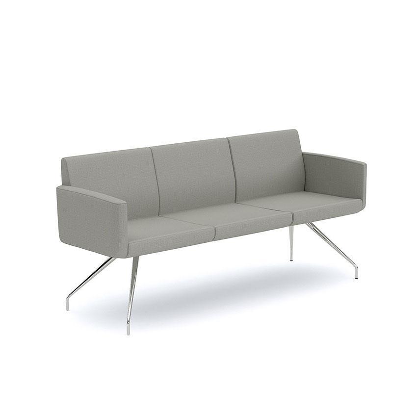 Sofa Sofia en tres plazas variedad de colores marca Infiniti Design